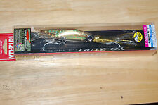 """yo zuri sashimi 3d squirt squid eyes 7 1/2"""" 1 1/2oz brown green scale r1069-cpbr"""