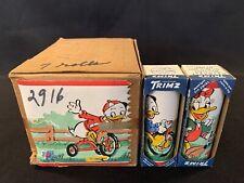 Vintage 1940s Trimz Disney Donald & Daisy Wallpaper Border 28 Yards Sealed Case