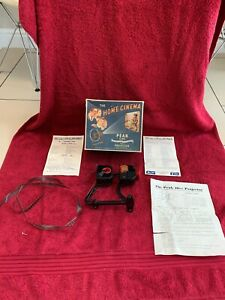 VINTAGE THE HOME CINEMA PEAK CINE 16MM PROJECTOR IN ORIGINAL BOX