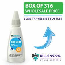 Hand Sanitizer PACK OF 316 Aloe Vera Hand Sanitiser Wholesale Prices BOX OF 316