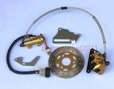 Rear Hydraulic Disk Brake Rotor CNC Bracket For Honda Monkey Z50 Bikes Skyteam