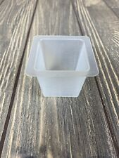 "Tupperware Square Food Storage Container 1.5"" Tall 1 90-2"