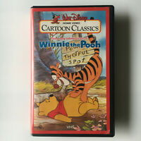 The Many Adventures Of Winnie The Pooh. VHS Video Tape Walt Disney Cartoon 1977