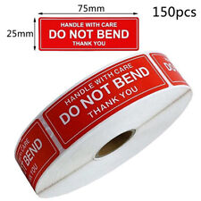 150PCS Fragile Stickers The Goods Please Handle With Care Warning Labels DIHG