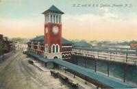 NEWARK NJ – D. L. and W. Railroad Station