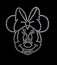 Minnie Mouse Large Crystal Sparkle Iron On Transfer For Clothes & Furnishings