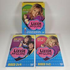 Lizzie McGuire Box Set Volume 1 (DVD, 2004) 1st 22 episodes Region 1 Disney VGC