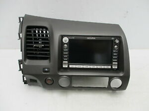 2006-2007 Acura CSX Radio AM FM CD MP3 Navigation Face ID 2AC2 OEM