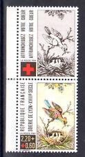 FRANCE TIMBRE CROIX ROUGE AVEC VIGNETTE 2612 ** MNH G SOIERIES DE LYON - 1989