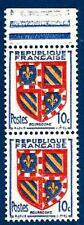 VARIÉTÉ  N°834/i (timbre inferieur plus petit tenant au normal )Neuf **