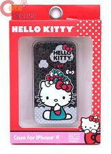 Hello Kitty Apple iPhone 4 Case Hard Case Cover Raining Bows i Phone 4S