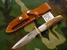 """RANDALL KNIFE KNIVES RKS #1,5"""",BDH,BL.-BRASS-S,STG,BP #672/940      #7311"""