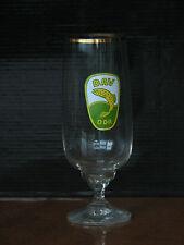 Beer glass DAV DDR fishing Association rare used East Germany logo emblem goblet