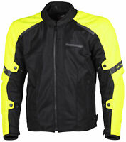 Tourmaster Draft Air V4 Jacket Hi Viz/Black XXL