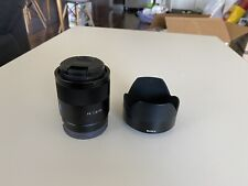 Sony Zeiss Sonnar T FE 55mm F/1.8 ZA Lens
