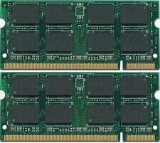 4GB (2x2GB) PC2-5300 667 200PIN Laptop Memory for Toshiba Satellite Pro P100