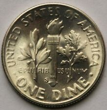 1951 S Roosevelt Dime in 90% Silver Choice BU US Coin