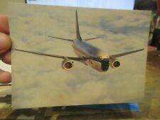New ListingOther Old Postcard Airplane Plane Aircraft Lufthansa Boeing 737 300 Germany Air