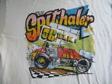 Ralph Spithaler #56 1985 PA Posse World of Outlaws Sprint Car Shirt XL