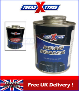 Tyre Bead Sealer 500ml Sealant Brush Tyre Repair & Wheel Rim Leaks Alloy Steel