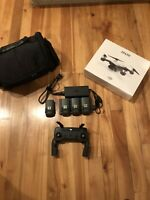 DJI Spark Drone(New!) - Controller, 4 Batteries, 3-Battery Charging Hub, & Case