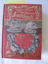 Großes illustriertes Kochbuch Mathilde Ehrhardt  1904 reprint