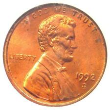 1992-D Lincoln Cent Penny Close AM Variety FS-901 - NGC MS65 RD - Rare in MS65!