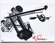 Mark Di Suvero 1973 Signed Numbered Print Ltd. Edition Pristine Dealer JKLFA.com