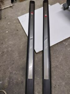 AUDI A3 8P S LINE  FRONT DOOR SILL STRIP  TRIM SET