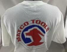 Matco Tools T-Shirt L White *NEW* (65)
