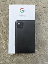 Google Pixel 4a GA02114-US - 128GB - Just Black (Unlocked) (Single SIM)