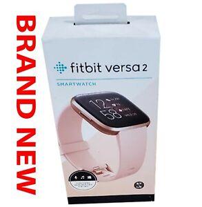 Brand New Fitbit Versa 2 Health & Fitness Smartwatch (FB507BKBK) BRAND NEW