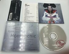Homogenic by Björk Cd Japan deluxe release 16 tracks w/ B-sides+remixes with obi