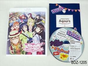 Love Live Sunshine Aqours Memories Fan Disc Tekuteku Movie ver Italy BD Bluray