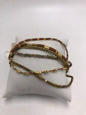 $160 Chan Luu gold mix multi strand bracelet Cm5