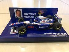 MINICHAMPS 1/43 JACQUES VILLENEUVE, WILLIAMS RENAULT FW19 1997 F1 CAR, 430970003