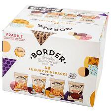 Familia de frontera galletas 48 Paquetes De Mini De Lujo En 4 variedades 2 cookies cada paquete