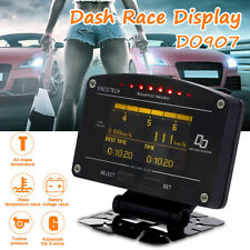 11 in 1 Car Race Dash Display Turbo Boost Exhaust EGT Temp Tacho RPM Gauge Meter