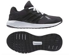 Adidas Duramo 8 Running Shoes Black White Cloudfoam Midsole BA8086 Womens US 8.5