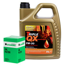 Triple QX Fully Synthetic Plus VAG 5W30 Engine Oil 5L and Oil Filter Service Kit