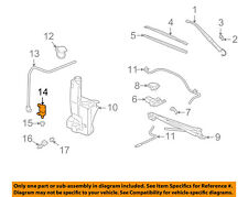 GM OEM Rear Wiper-Washer Pump 19244683