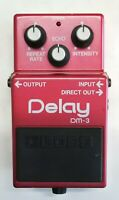 BOSS DM-3 Delay Guitar Effects Pedal made in Japan #11 Free Shipping