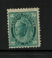 Canada SC# 67, Mint Hinged, Hinge Remnant, lower perf crease - S2622