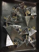 lead pyramid sinkers 10 Lbs 1-2-3-4 oz any combination