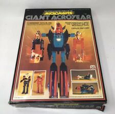 Micronauts GIANT ACROYEAR/Box/ Instructions/decals/free Shipping