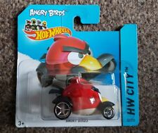 Hot Wheels ANGRY BIRDS RED BIRD Court Carte