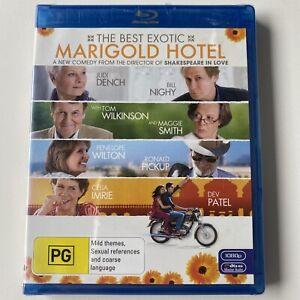 The Best Exotic Marigold Hotel (Blu-ray) Australia Region B- NEW & SEALED