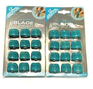 Goldblatt Blade 24pc Runner Replacement Blades Drywall Cutter Blade Cartridges