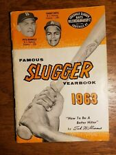 Louisville Slugger 1963 Famous Slugger Year Book TED WILLIAMS HILLERICH BRADSBY