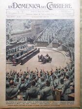 La Domenica del Corriere 13 Dicembre 1936 Edoardo Simpson Impero Basil Zaharoff